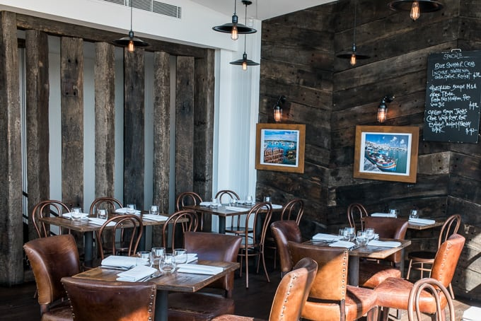 The nautical themed upper deck at Lombardo's Restaurant and Bar Dural
