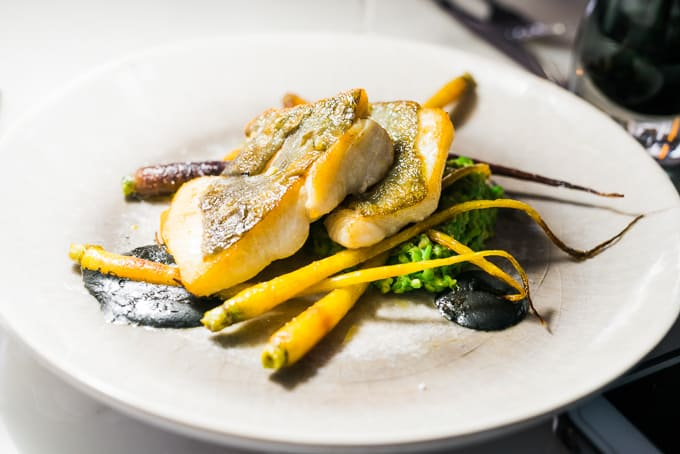 Pan Fried John Dory from New Zealand at cod's gift