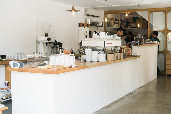 Edition Coffee Roasters Front Counter