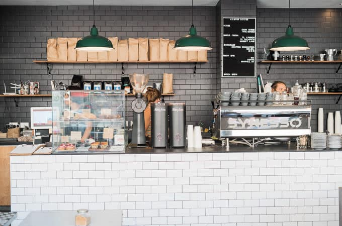 The brew bar at Elbow Room Espresso Chatswood