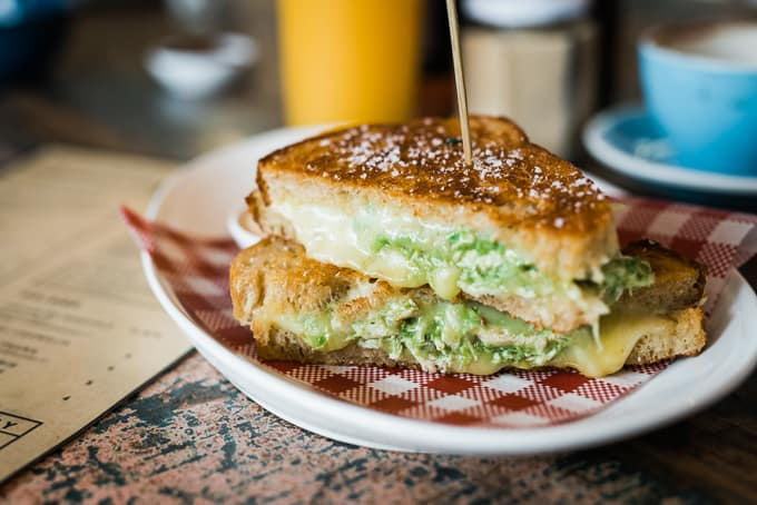 Chikado is a chicken and avocado toastie by Two Lost Boys