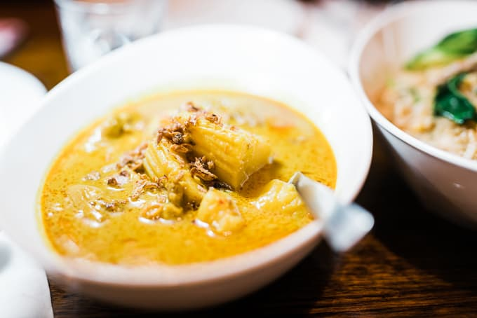 Yellow Curry at Spice I Am Surry Hills
