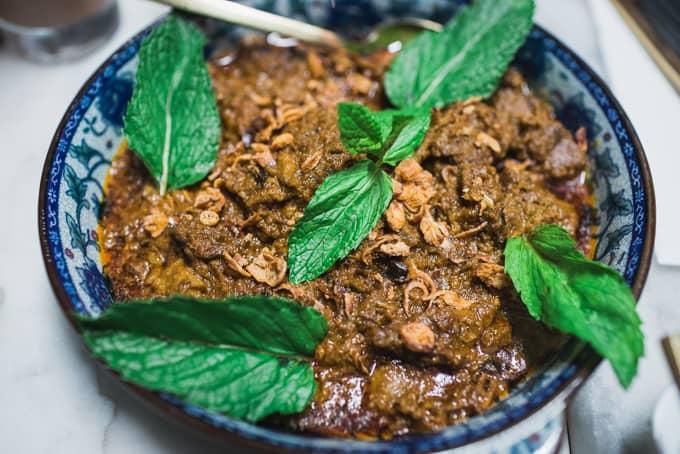 Beef Rendang from Ho Jiak Haymarket