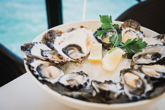Sydney Cove Oyster Bar's signature oyster platter