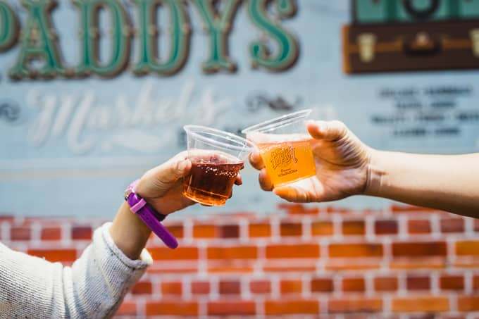 Amplify Kombucha at Paddy's Markets Pop Up