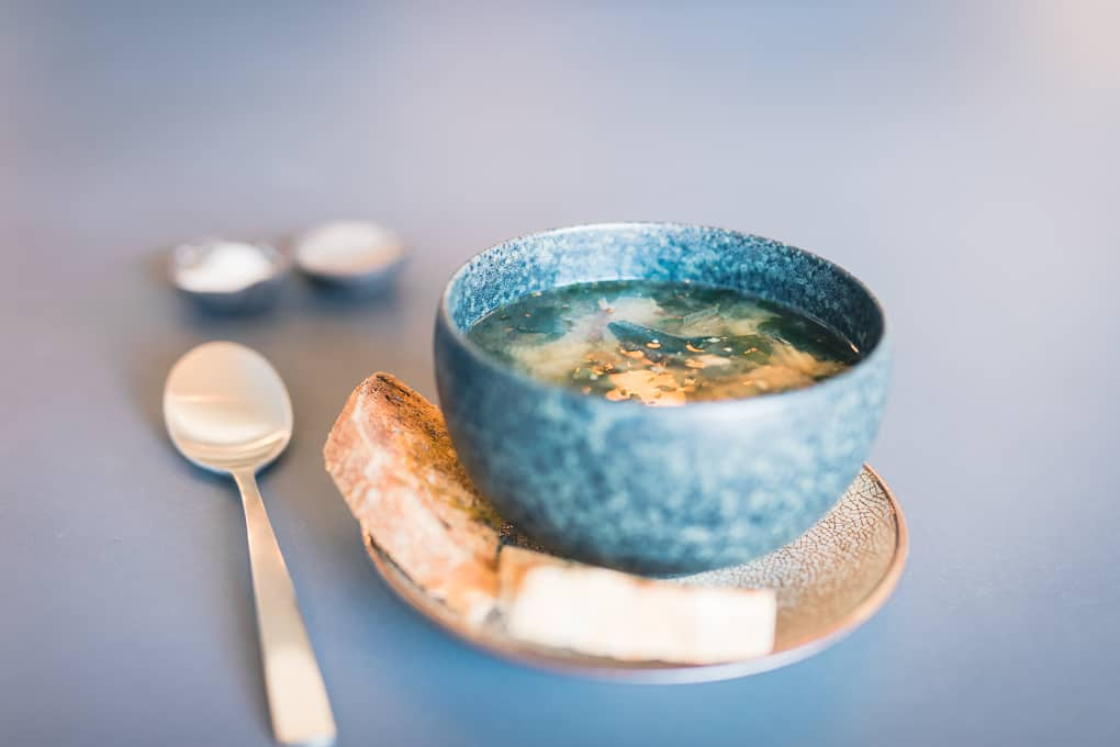 Miso Soup from Intra Coffee