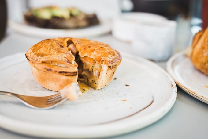 Divine and homely pies at Three Mills Bakery