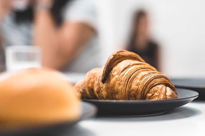 Buttery croissants at Acoffee Collingwood