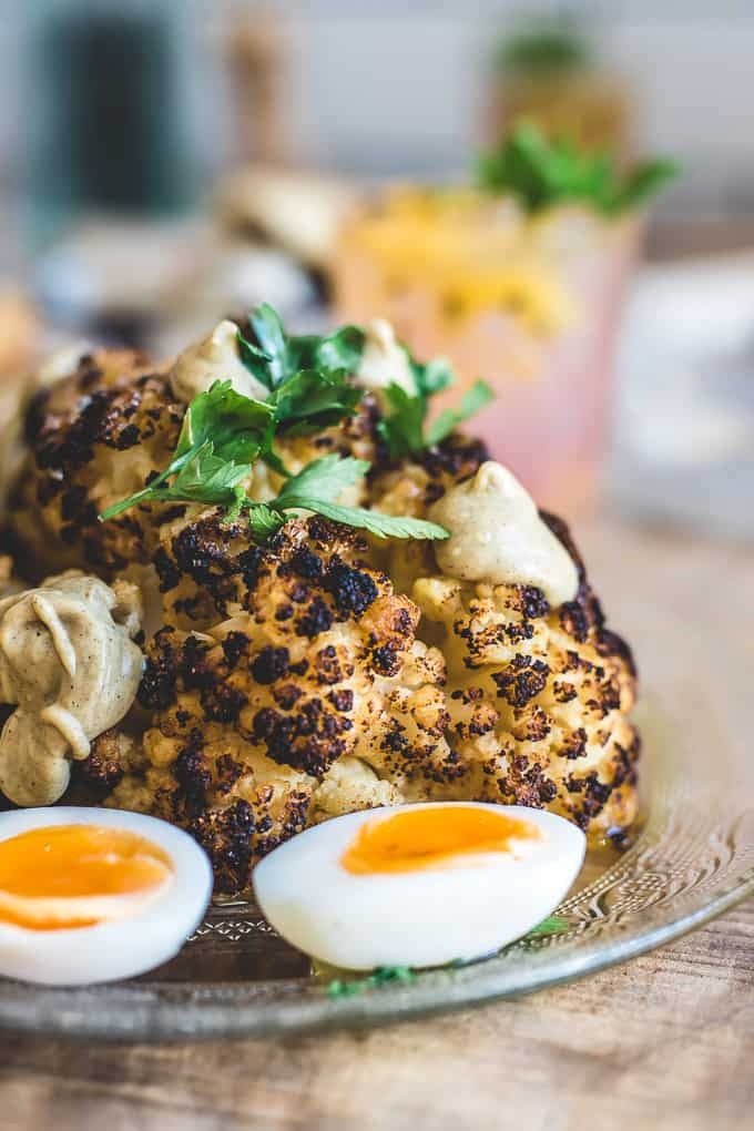 Roasted Cauliflower at New Jaffa