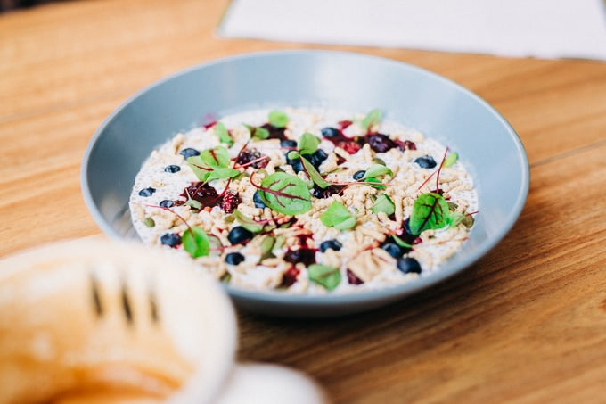 Chia Pudding is the healthy choice at ONA Manuka