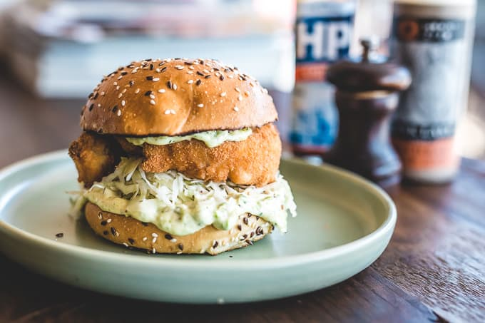 Fish Finger Butty Melbourne
