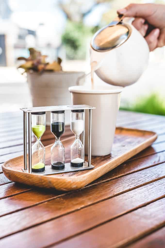 chai tea pot timer