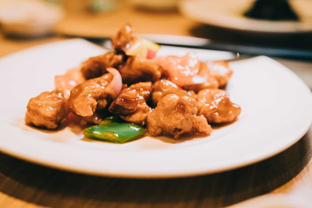 Sweet and Sour Pork at Putien Restaurant