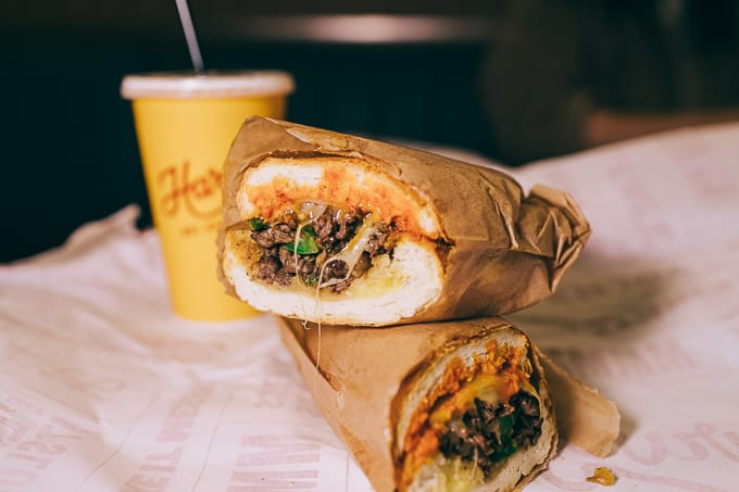 Philly Cheesesteak by Harveys Hot Sandwiches